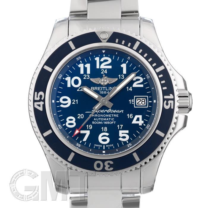 [最大3万円引き! 5/1]ブライトリング スーパーオーシャンII 42 マリンブルー A182C15PSS BREITLING新品メンズ腕時計 送料無料