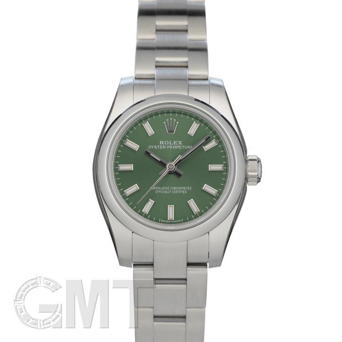 ロレックス オイスターパーペチュアル 176200 オリーブグリーン ROLEX 新品レディース 腕時計 送料無料