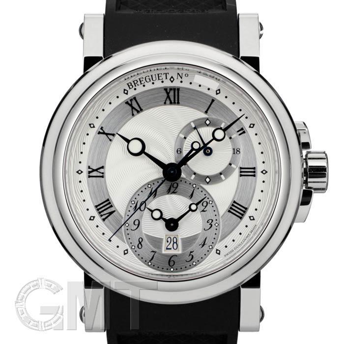 BREGUET ブレゲ マリーン GMT 5857ST/12/5ZU シルバー 【新品】【腕時計】【メンズ】 【送料無料】 【あす楽_年中無休】