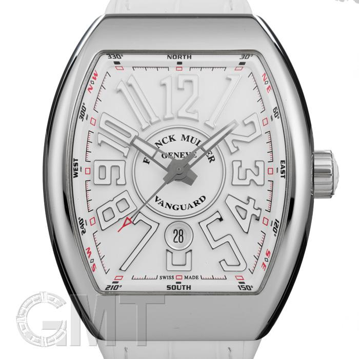 [最大3万円引き! 5/1]フランク・ミュラー ヴァンガード ホワイト V45SCDT FRANCK MULLER新品メンズ腕時計 送料無料