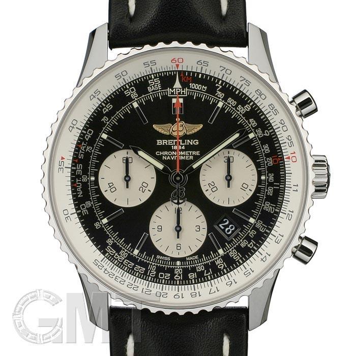 ブライトリング ナビタイマー01 A022B01KBA ブラックレザーベルト BREITLING※ BREITLING 新品メンズ 腕時計 送料無料