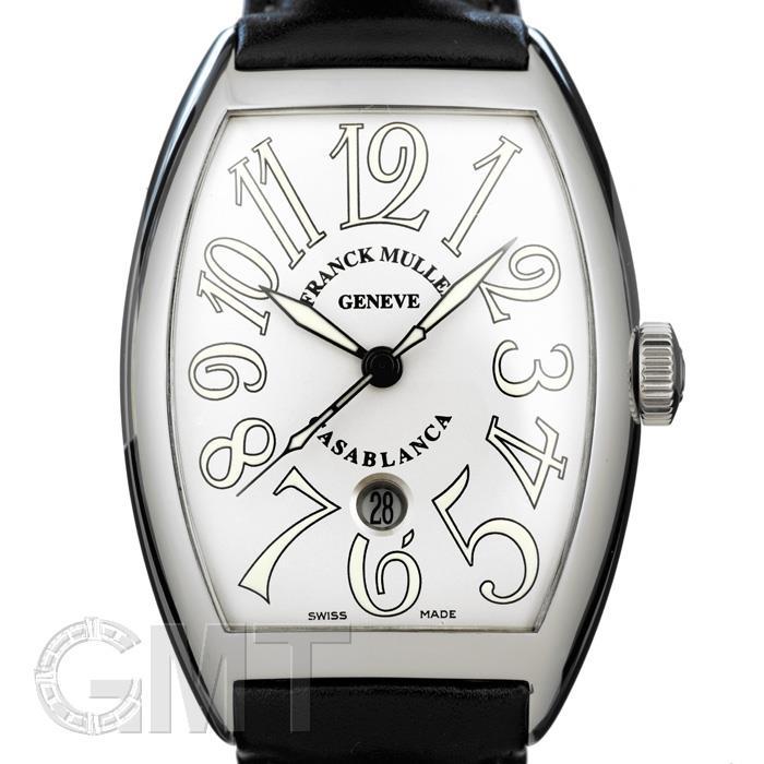フランク・ミュラー カサブランカ 8880 CASA DT ステンレス レザーベルト ホワイト FRANCK MULLER 【新品】【メンズ】 【腕時計】 【送料無料】 【あす楽_年中無休】