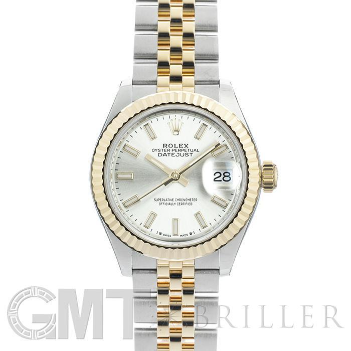 ロレックス デイトジャスト 28 279173 シルバー ROLEX 新品レディース 腕時計 送料無料
