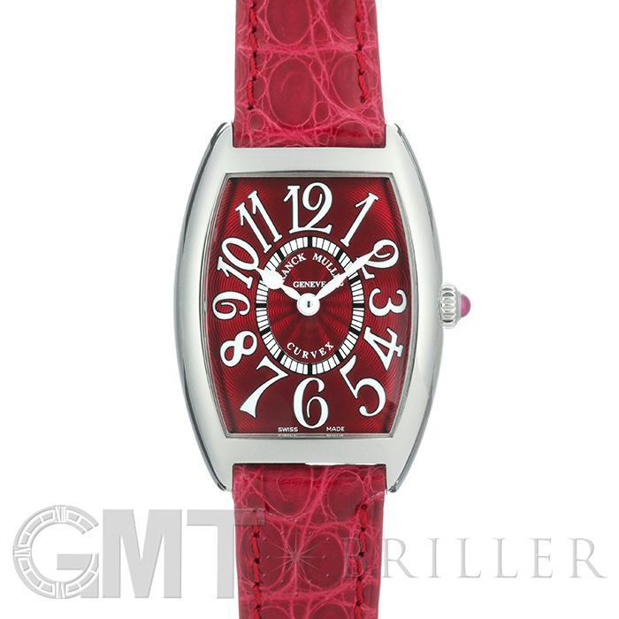 [最大3万円引き! 5/1]フランクミューラー トノーカーベックス レッドカーペット 1752QZ RED CARPET[SS レッドレザーベルト レッド] FRANCK MULLER 新品レディース 腕時計 送料無料