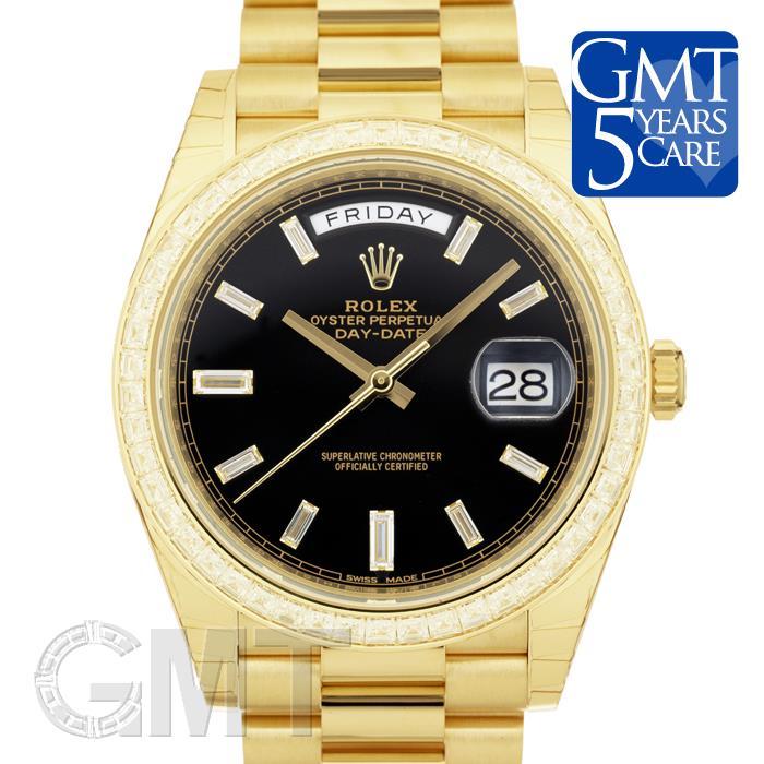 [最大3万円引き! 5/1]ロレックス デイデイト40 ブラック 228398TBR ROLEX新品メンズ腕時計 送料無料