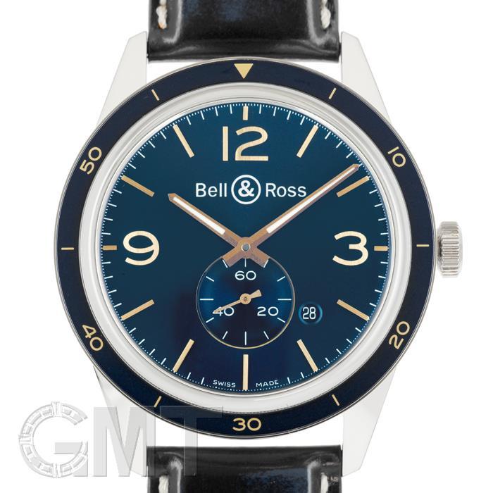 ベル&ロス ヴィンテージBR123 アエロナバル ブルー BRV123-BLU-ST BELL & ROSS 【新品】【メンズ】 【腕時計】 【送料無料】 【あす楽_年中無休】