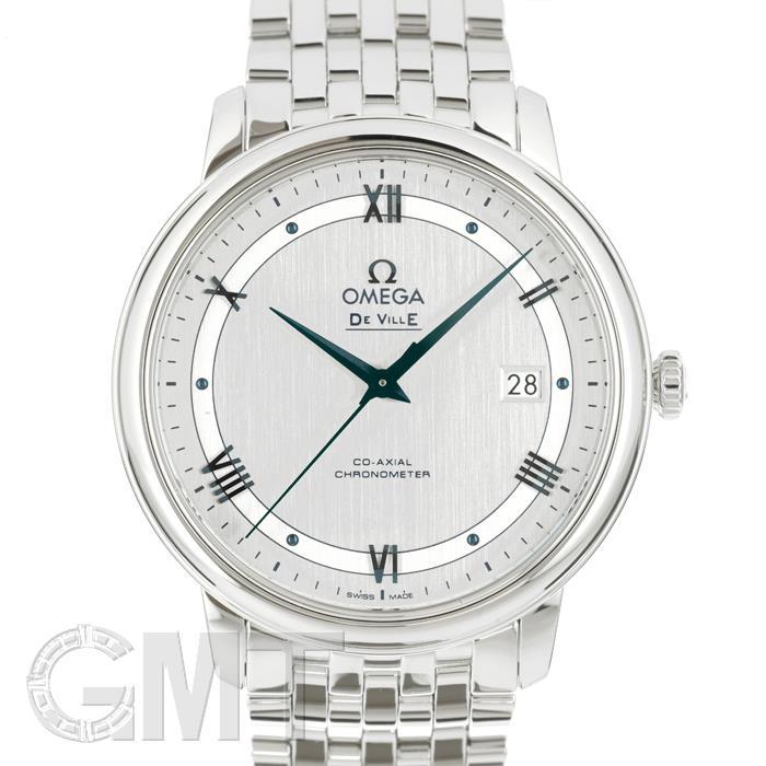 オメガ デヴィルプレステージ 39.5MM シルバー424.10.40.20.02.001 OMEGA 新品メンズ 腕時計 送料無料