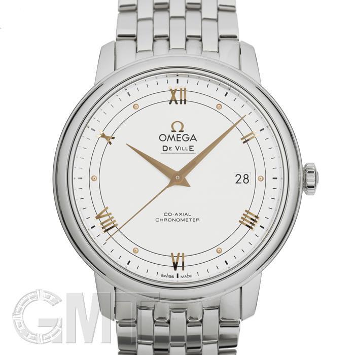 オメガ デヴィルプレステージ 39.5MM ホワイト 424.10.40.20.02.002 OMEGA 新品メンズ 腕時計 送料無料