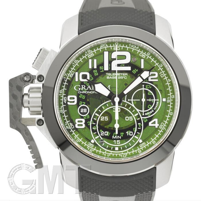 グラハム クロノファイター オーバーサイズ ターゲット グリーンスモーク 2CCAC.G03A GRAHAM 【新品】【メンズ】 【腕時計】 【送料無料】 【あす楽_年中無休】