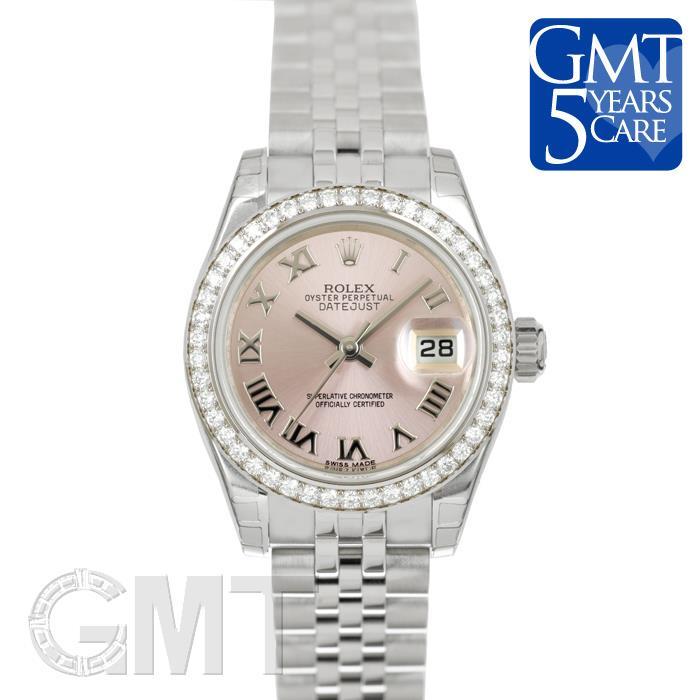 ロレックス デイトジャスト 179384 ピンクローマ ROLEX 新品レディース 腕時計 送料無料