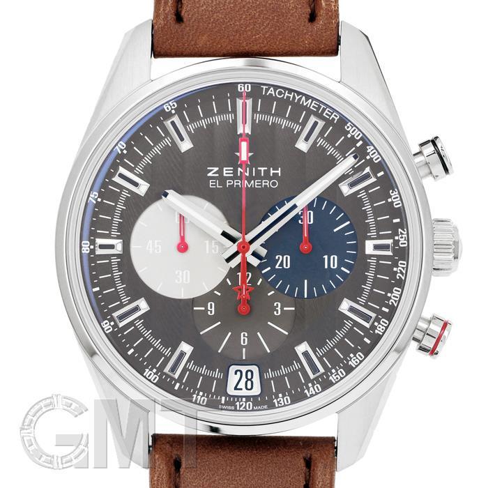 ゼニス エルプリメロ 36,000VpH クラシックカーズ グレー 03.2046.400/25.C771 ZENITH 新品メンズ 腕時計 送料無料