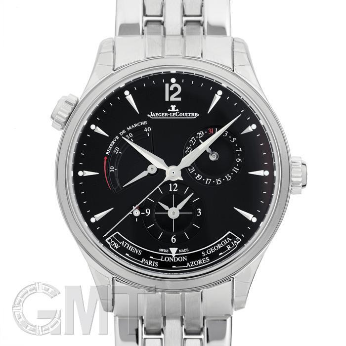ジャガールクルト マスター ジオグラフィーク ブラック Q1428171 JAEGER LECOULTRE 【新品】【メンズ】 【腕時計】 【送料無料】 【あす楽_年中無休】