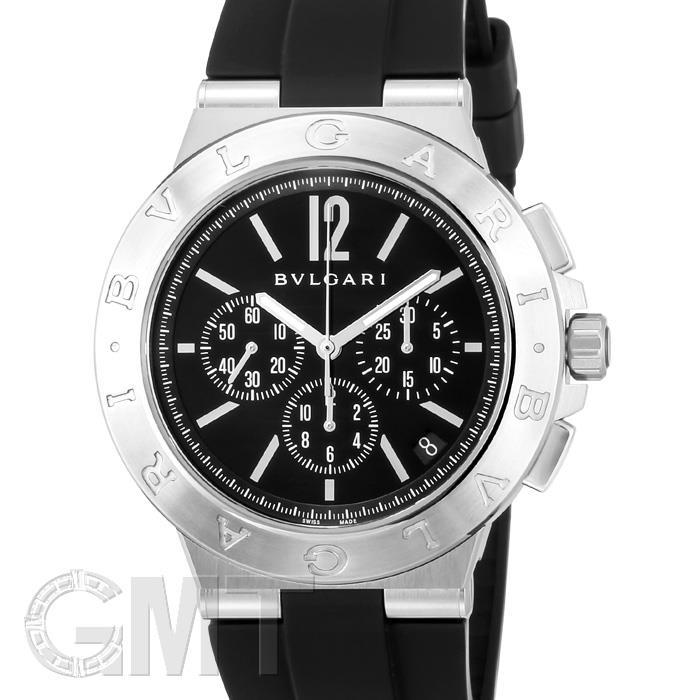 ブルガリ ディアゴノ ヴェロチッシモ DG41BSVDCH ブラック BVLGARI新品メンズ腕時計 送料無料