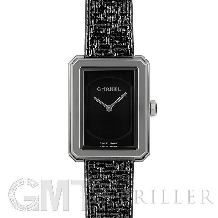 シャネル ボーイフレンド ツイード ブラックコーティング 21.5mm H5317 CHANEL 【新品】【レディース】 【腕時計】 【送料無料】