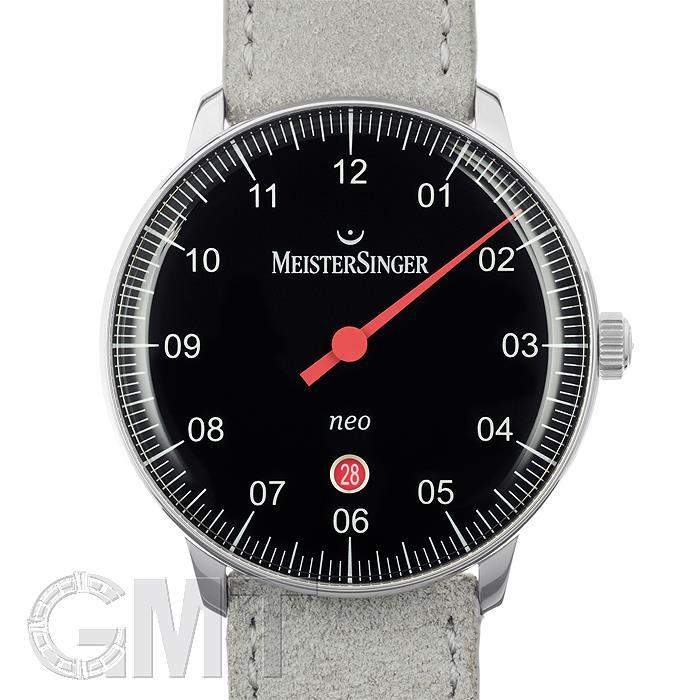 マイスタージンガー Neo Plus ブラック NE402正規輸入商品 新品メンズ 腕時計 送料無料