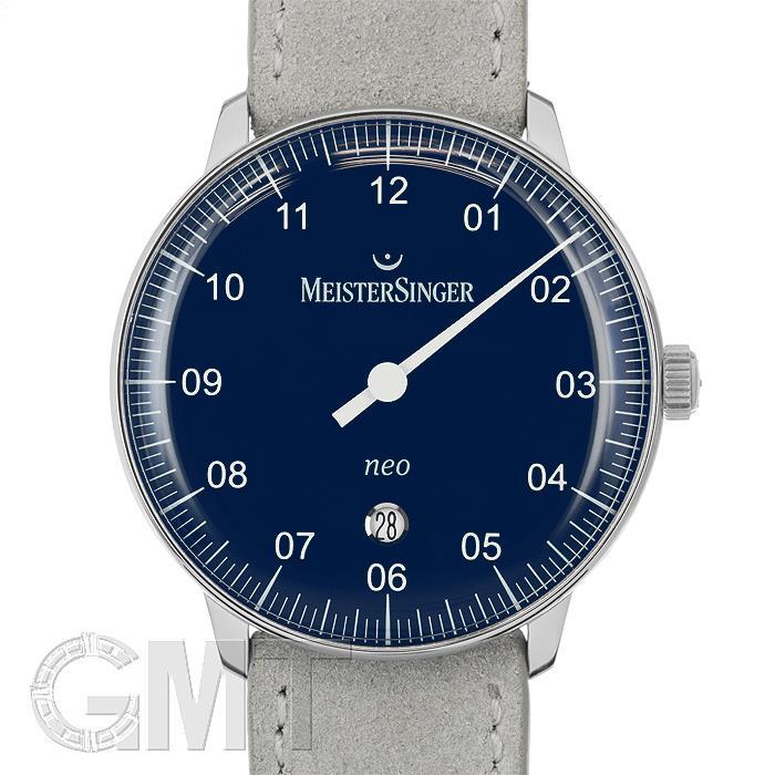 マイスタージンガー Neo Plus ブルー NE408【正規輸入商品】 【新品】【メンズ】 【腕時計】 【送料無料】 【あす楽_年中無休】
