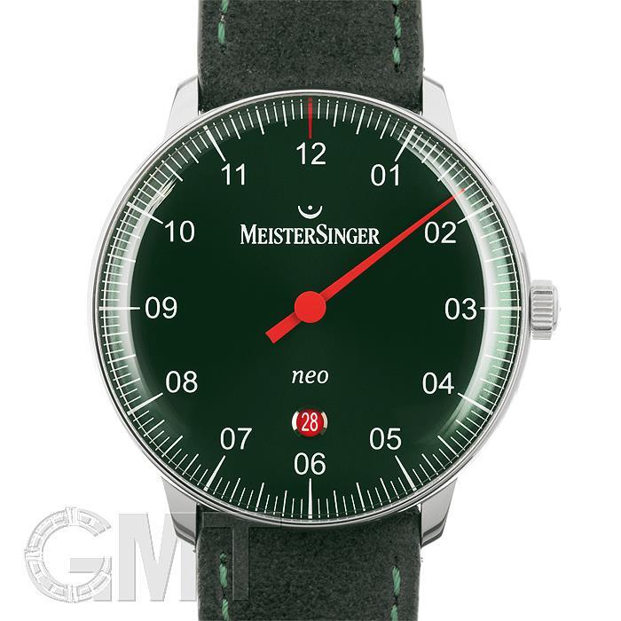 マイスタージンガー Neo Plus グリーン NE409【正規輸入商品】 【新品】【メンズ】 【腕時計】 【送料無料】 【あす楽_年中無休】