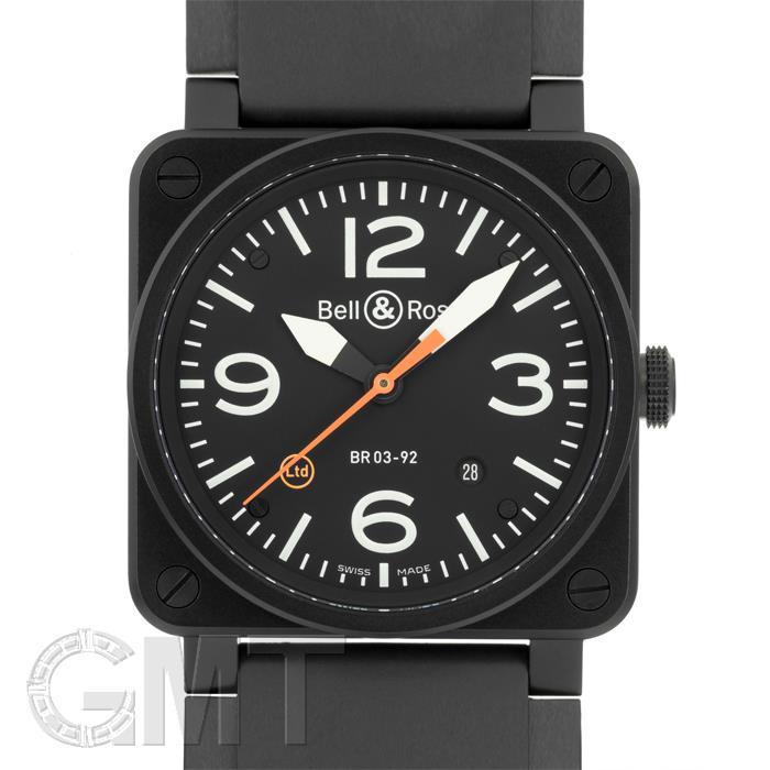 BR0392-O-CA カーボンオレンジ ブラック 世界500本限定 BELL & ROSS 新品メンズ 腕時計 送料無料 お祝い 法事 名入れ 年越し
