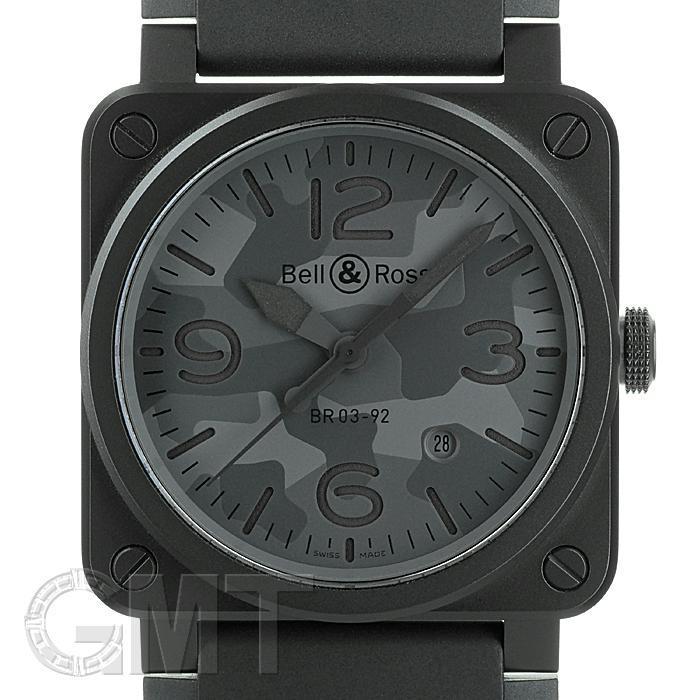 ベル&ロス BR03-92 ブラックカモ BR0392-CAMO-CE/SRB BELL & ROSS 【新品】【メンズ】 【腕時計】 【送料無料】 【あす楽_年中無休】