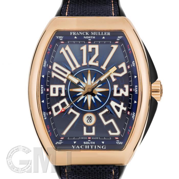 フランクミュラー ヴァンガード ヨッティング V45SCDTYACHTING 5NBL ブルー ピンクゴールド FRANCK MULLER 【新品】【メンズ】 【腕時計】 【送料無料】 【あす楽_年中無休】