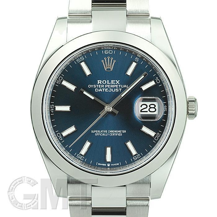 ロレックス デイトジャスト41 126300 ブルー ROLEX 【新品】【メンズ】 【腕時計】 【送料無料】 【あす楽_年中無休】