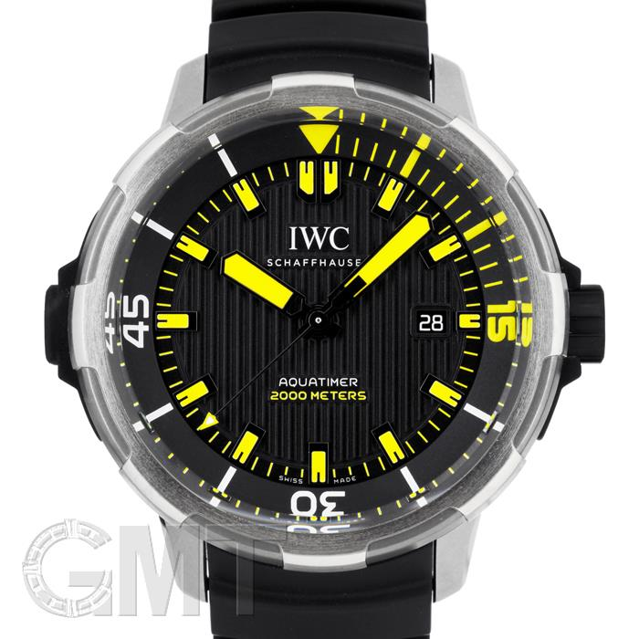 IWC アクアタイマー オートマティック2000 ブラック IW358001 IWC 【新品】【メンズ】 【腕時計】 【送料無料】 【あす楽_年中無休】
