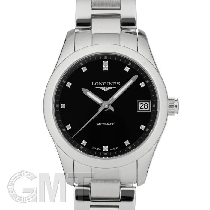 人気ブランド ロンジン コンクエスト クラシック L2.385.4.58.6 腕時計 ブラック 33.5mm LONGINES LONGINES クラシック 新品レディース 腕時計 送料無料, イググン:f90944d5 --- briefundpost.de
