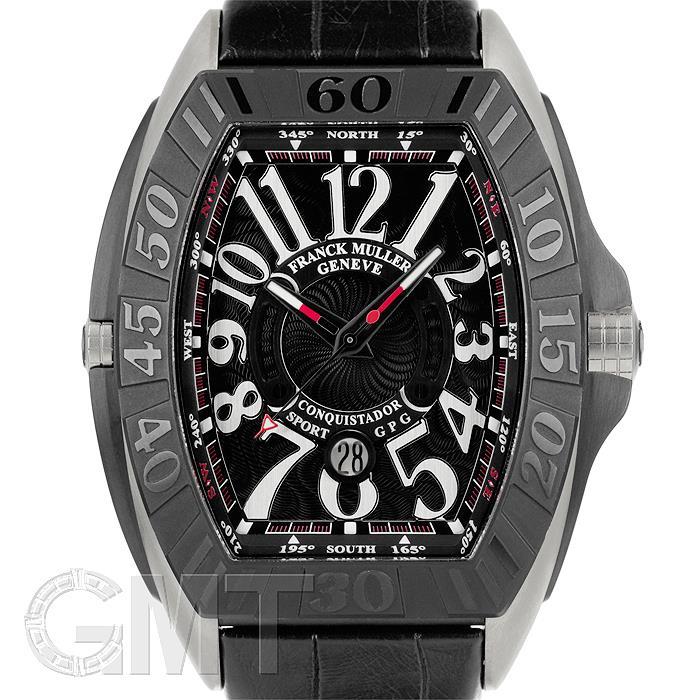 フランクミュラー コンキスタドールグランプリ ブラック TI レザー 9900SC DT GPG FRANCK MULLER 【新品】【メンズ】 【腕時計】 【送料無料】 【あす楽_年中無休】