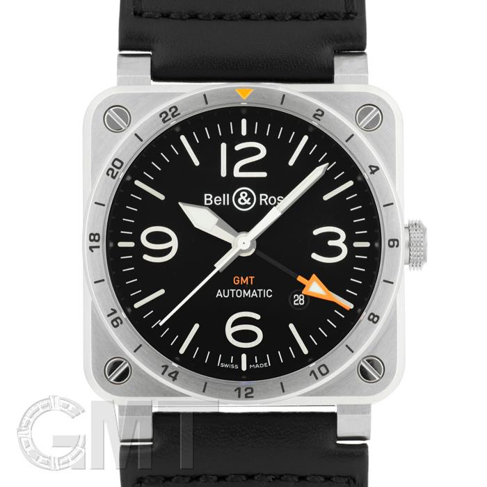 BELL & ROSS BR 03-93 GMT BR0393-GMT-ST/SCA BELL & ROSS 【新品】【メンズ】 【腕時計】 【送料無料】 【あす楽_年中無休】