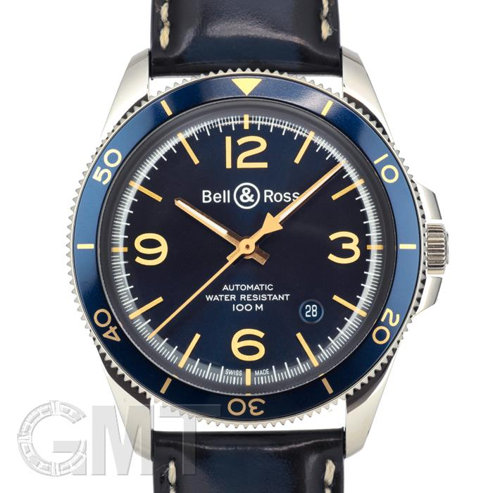 BELL&ROSS ヴィンテージ BR V2-92 アエロナバル BRV292-BU-G-ST/SCA 革 BELL & ROSS 【新品】【メンズ】 【腕時計】 【送料無料】 【あす楽_年中無休】