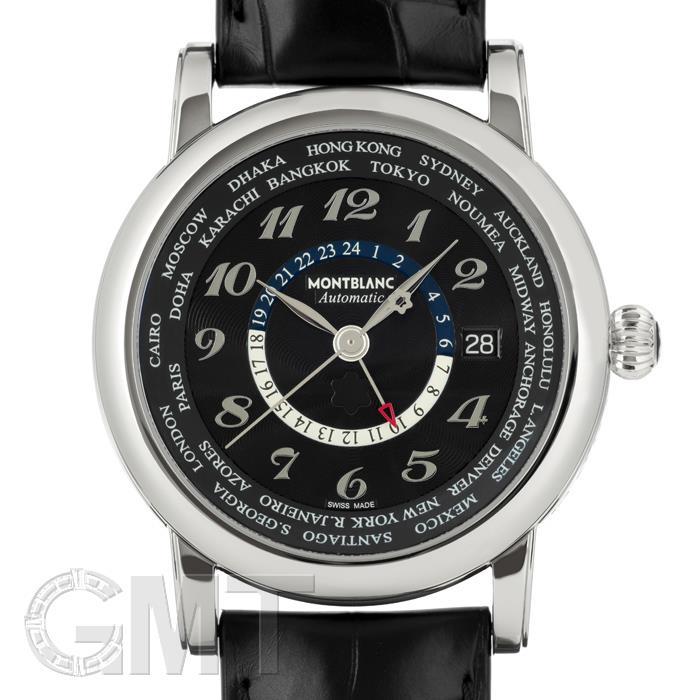 モンブラン スター ワールドタイム GMT ブラック 109285 MONTBLANC 【新品】【メンズ】 【腕時計】 【送料無料】 【あす楽_年中無休】