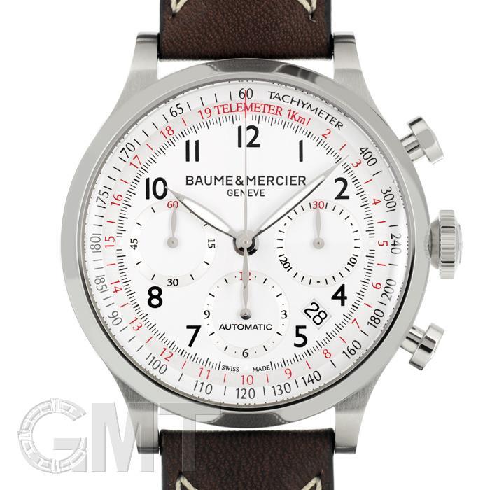 ボーム&メルシエ ケープランド クロノグラフ MOA10000 BAUME & MERCIER 【新品】【メンズ】 【腕時計】 【送料無料】 【あす楽_年中無休】