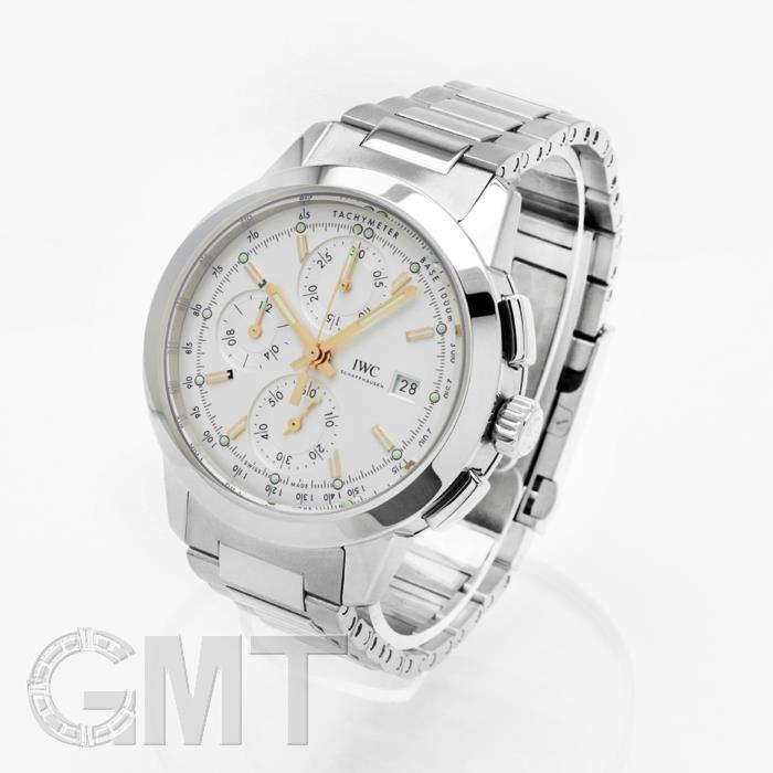 official photos 55897 de69c IWC インヂュニアクロノグラフ IW380801 silver IWC