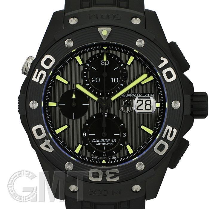 タグ・ホイヤー アクアレーサー 500M クロノグラフ フルブラック CAJ2180.FT6023 TAG HEUER 新品メンズ 腕時計 送料無料