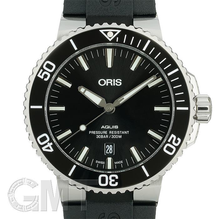オリス アクイス デイト 733 7730 4134 R ORIS 【新品】【メンズ】 【腕時計】 【送料無料】 【あす楽_年中無休】