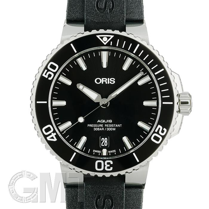 オリス アクイス デイト ブラック 733 7732 4134 R ORIS 【新品】【メンズ】 【腕時計】 【送料無料】 【あす楽_年中無休】