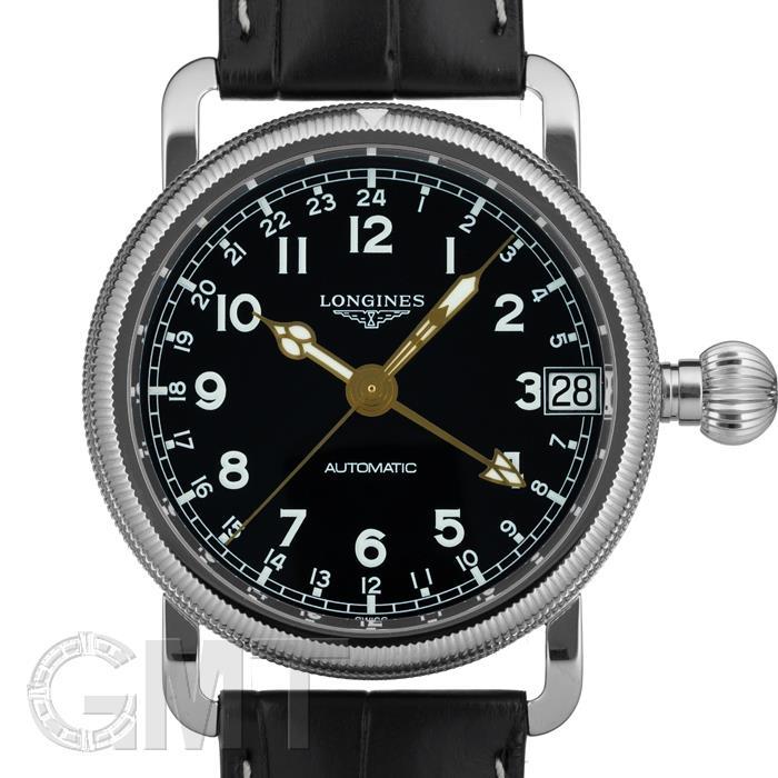 ロンジン ヘリテージアビゲーション オーバーサイズ クラウン L2.778.4.53.2 LONGINES 新品メンズ 腕時計 送料無料