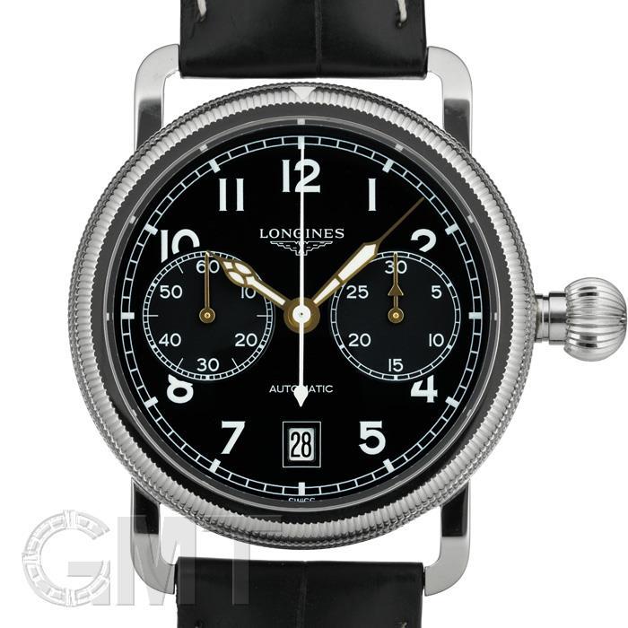 ロンジン ヘリテージアビゲーション オーバーサイズ クラウン L2.783.4.53.2 LONGINES 新品メンズ 腕時計 送料無料