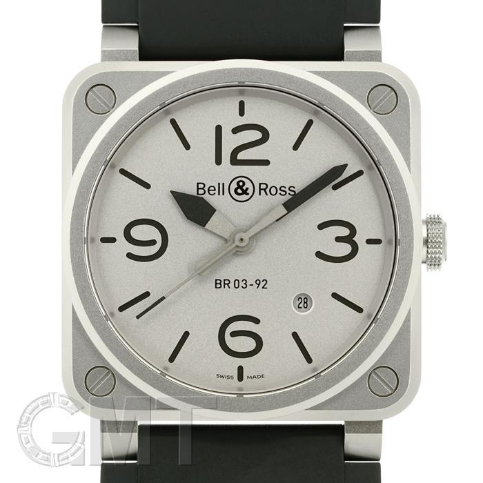 ベル&ロス BR03-92 ホロブラック BR0392-GBL-ST/SRB BELL & ROSS 【新品】【メンズ】 【腕時計】 【送料無料】 【あす楽_年中無休】