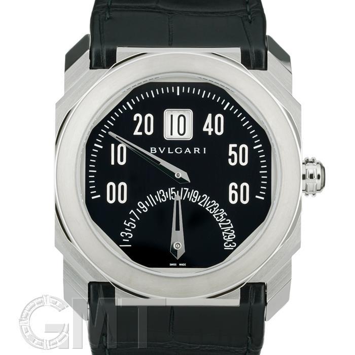 ブルガリ オクト レトログラディ ブラック BGO38BSLDBR BVLGARI 【新品】【メンズ】 【腕時計】 【送料無料】 【あす楽_年中無休】