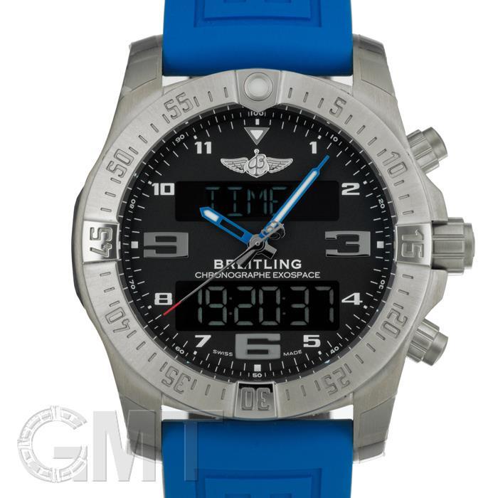 ブライトリング エクゾスペースB55 E510B79XRE ブルーラバー 46mm BREITLING 【新品】【メンズ】 【腕時計】 【送料無料】 【あす楽_年中無休】