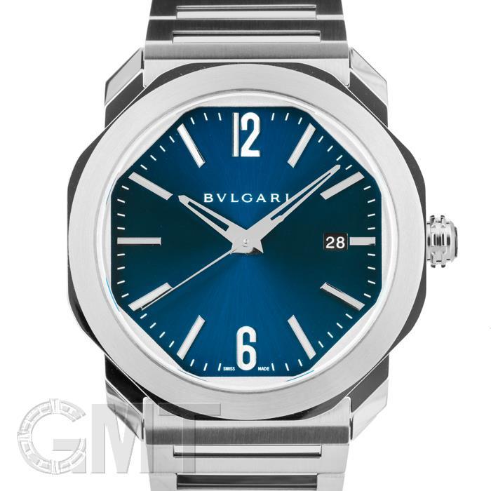 【2018年新作】ブルガリ オクト ローマ ブルー OC41C3SSD BVLGARI 【新品】【メンズ】 【腕時計】 【送料無料】 【あす楽_年中無休】