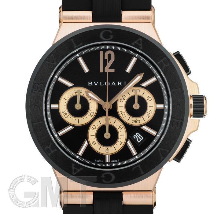 ブルガリ ディアゴノ クロノグラフ DGP42BGCVDCH BVLGARI 新品メンズ 腕時計 送料無料