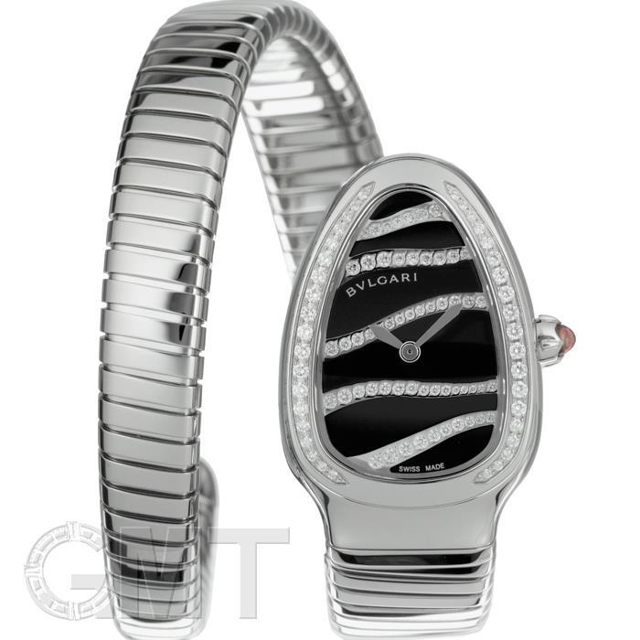 ブルガリ セルペンティ ブラック ベゼルダイヤ SP35BDSDS.1T.L BVLGARI 新品レディース 腕時計 送料無料
