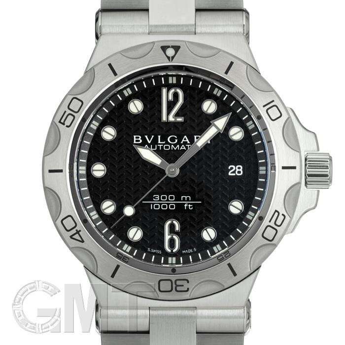 ブルガリ ディアゴノ ブラック DP42BSSDSDVTG BVLGARI 【新品】【メンズ】 【腕時計】 【送料無料】 【あす楽_年中無休】
