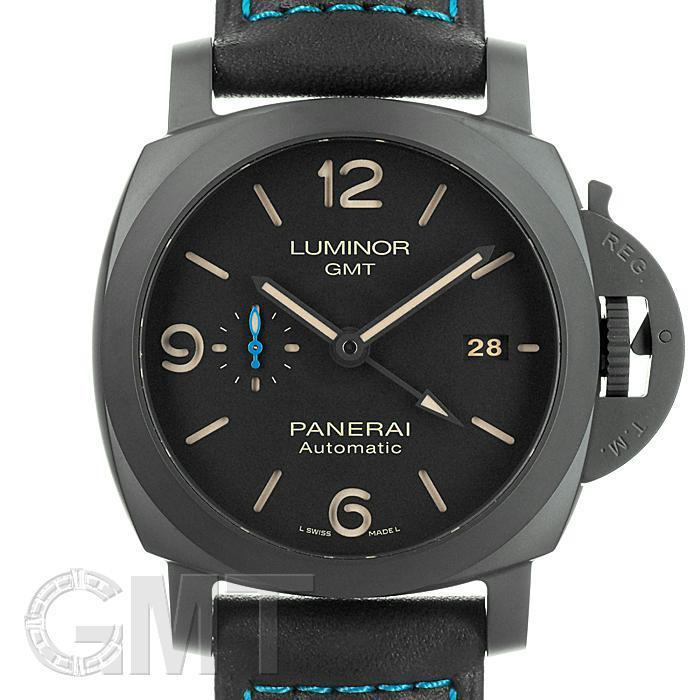 パネライ ルミノール1950 33DAYS GMT オートマティック 44mm PAM01441 OFFICINE PANERAI 【新品】【メンズ】 【腕時計】 【送料無料】 【あす楽_年中無休】