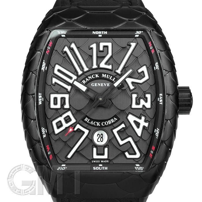 フランクミュラー ヴァンガード ブラックコブラ V45 SC DT AC NR BLACK COBRA FRANCK MULLER 新品メンズ 腕時計 送料無料