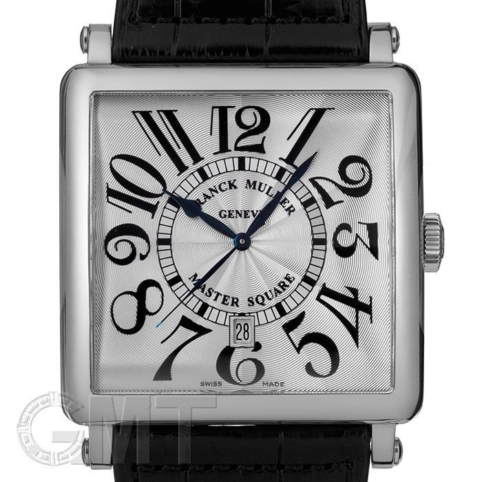 [最大3万円引き! 5/1]フランクミュラー マスタースクエア 6000KSC DT シルバー FRANCK MULLER新品メンズ腕時計 送料無料