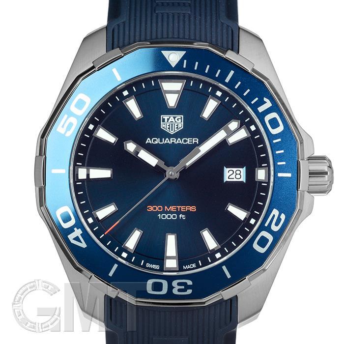 タグホイヤー アクアレーサー ブルー 43mm WAY101C.FT6153 TAG HEUER 【新品】【メンズ】 【腕時計】 【送料無料】 【あす楽_年中無休】