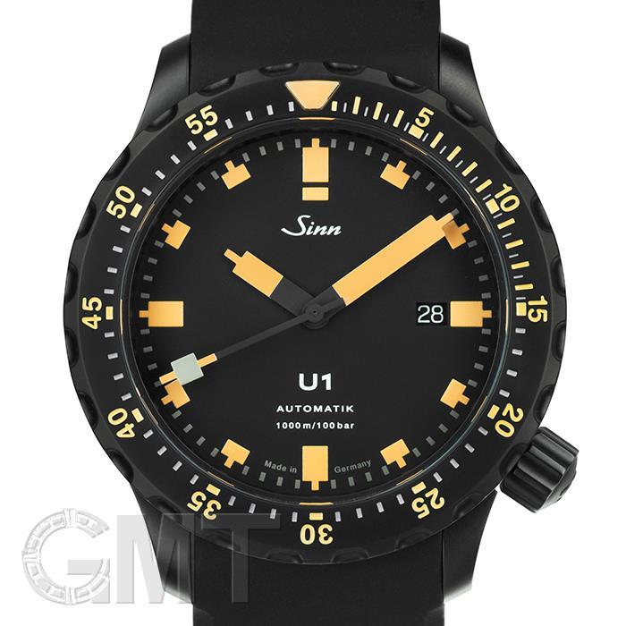 ジン U1.S.E ブラック ラバー SINN 【新品】【メンズ】 【腕時計】 【送料無料】 【あす楽_年中無休】